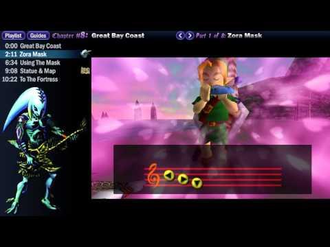"Legend of Zelda Majora's Mask Walkthrough 08 (1/8) ""Great Bay Coast: Zora Mask"""