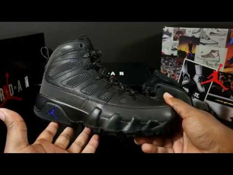 2f06846bc4a924 GET READY FOR WINTER  AIR JORDAN RETRO 9 BOOT NRG