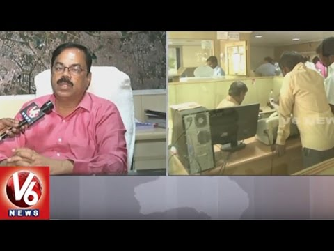 HMDA Commissioner Chiranjeevulu Face To Face || LRS Applications || V6 News