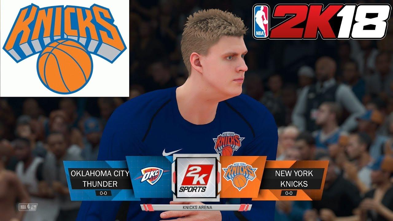 NBA 2K18 New York Knicks Team Breakdown - YouTube 0a59acfb4