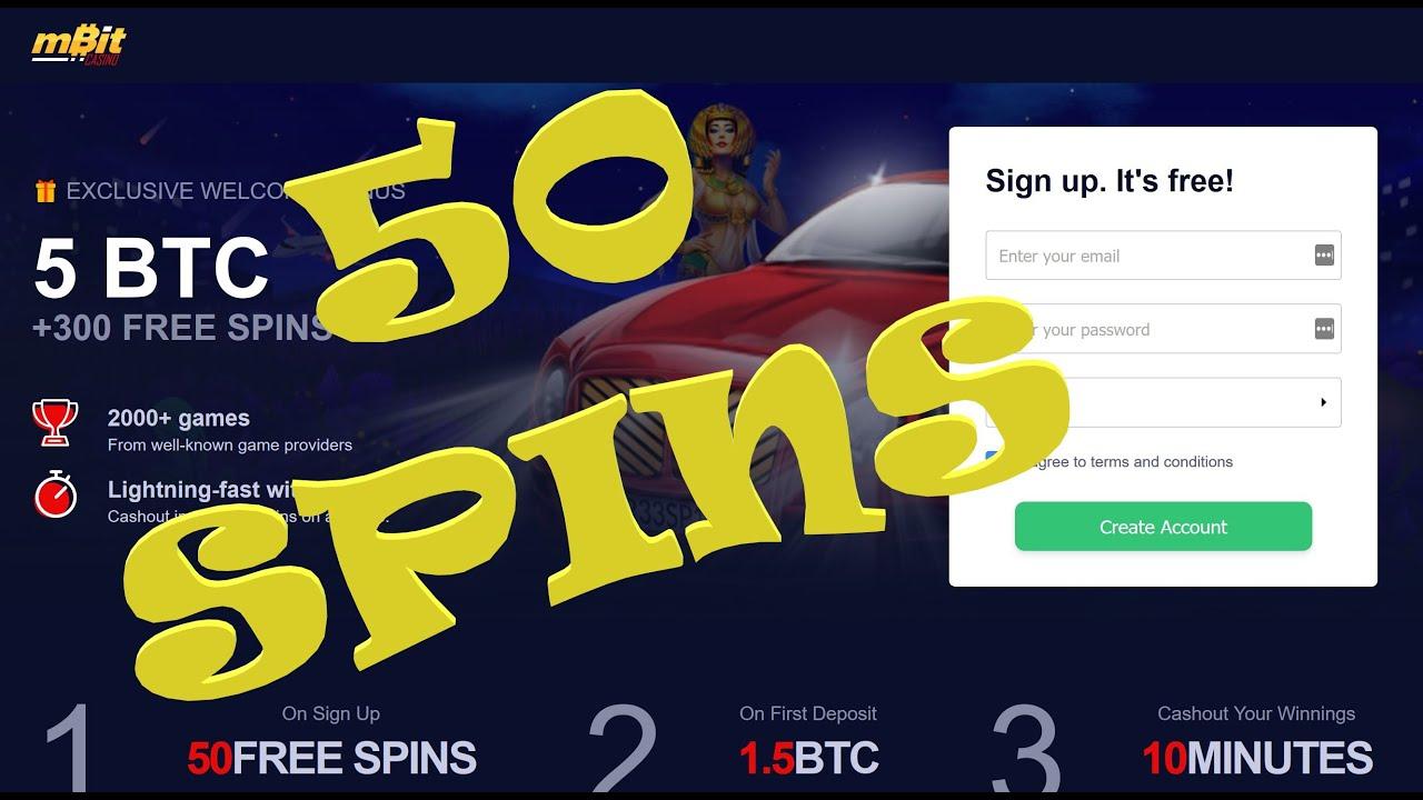 Mbit Casino No Deposit Bonus 2020