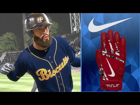 NEW BATTING GLOVES!! PLAYING IN A HURRICANE  MLB THE SHOW 18 ROAD TO THE SHOW EPISODE 5