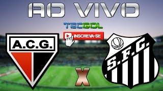 Video Gol Pertandingan Atletico GO vs Santos FC