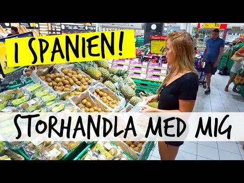 VLOGG  | Storhandla med mig i SPANIEN