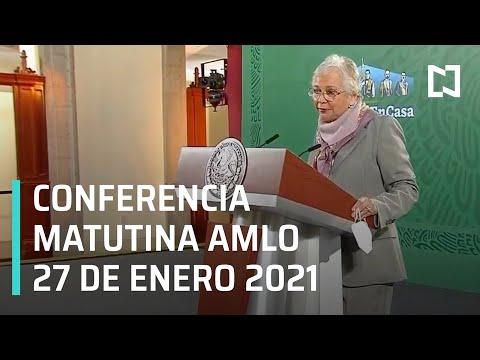 Conferencia matutina AMLO / 27 de enero 2021