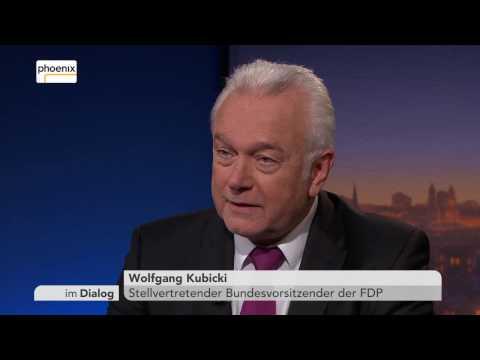 Im Dialog: Michael Hirz im Gespräch mit Wolfgang Kubicki am 17.02.17