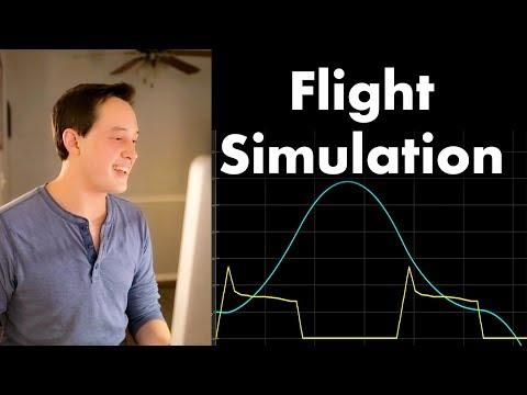 Flight Simulation - Landing Model Rockets Ep. 1