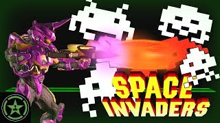 Things to Do In Halo 5 - Space Invaders