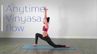 Video Anytime Vinyasa flow - Yoga class download MP3, 3GP, MP4, WEBM, AVI, FLV Maret 2018