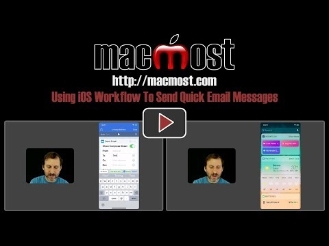 Using IOS Workflow To Send Quick Email Messages (#1612)