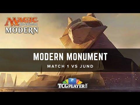 [MTG] Modern W/U Monument | Match 1 vs Jund