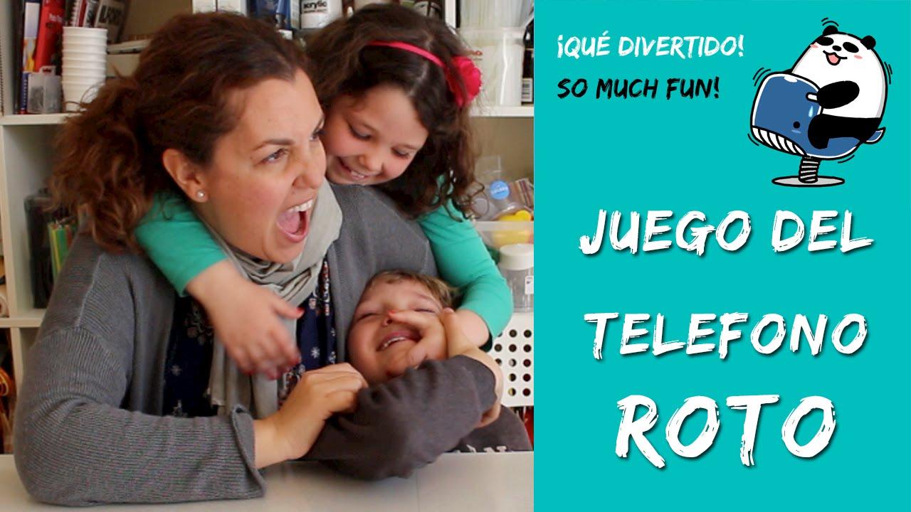 Juego Del Telefono Roto Broken Phone Game Youtube