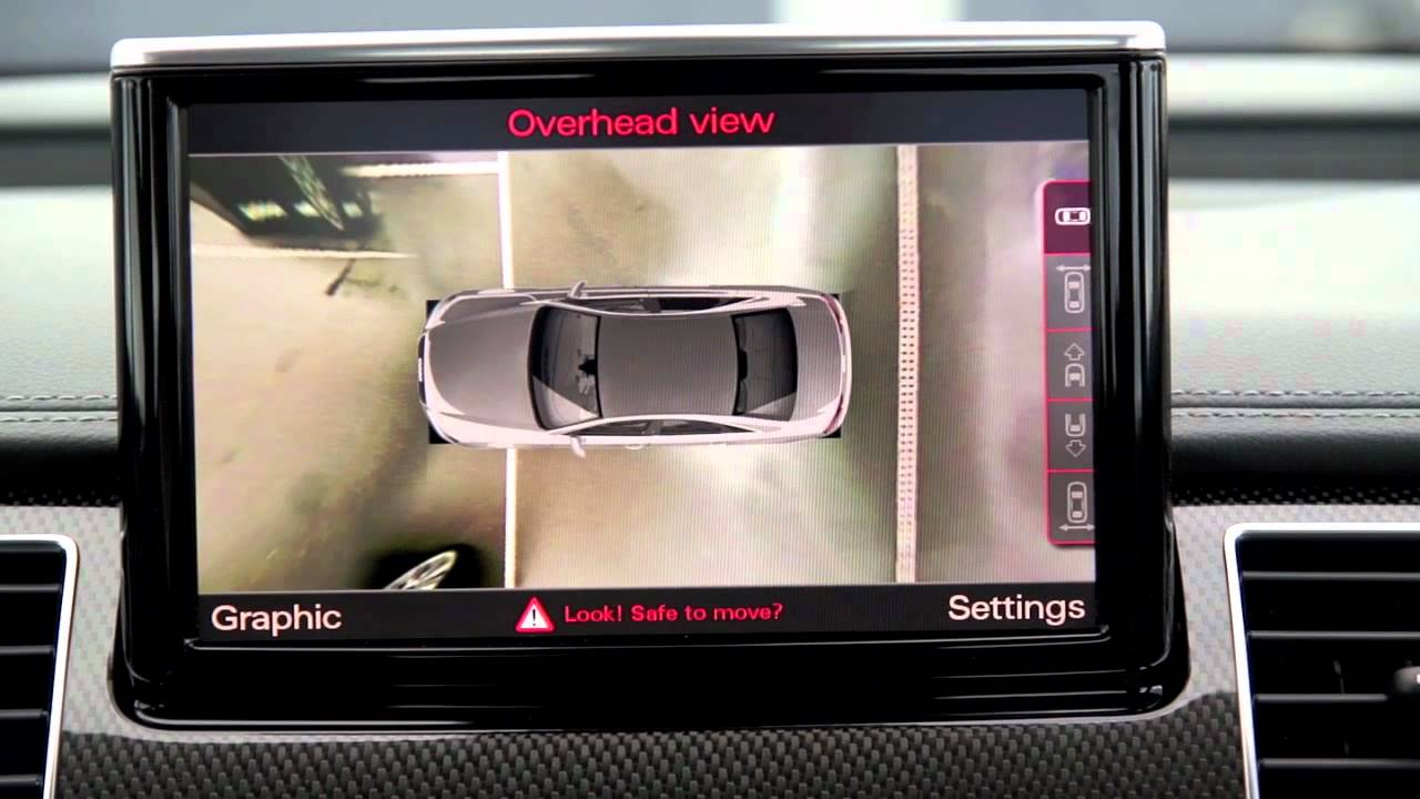 Audi S8 360 Degree View Camera Youtube