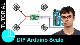 Arduino Scale with HX711 and 50kg Bathroom Scale Load Cells. Step by Step Guide.