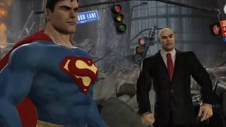 Mortal Kombat vs DC Universe - DC Story Cutscenes