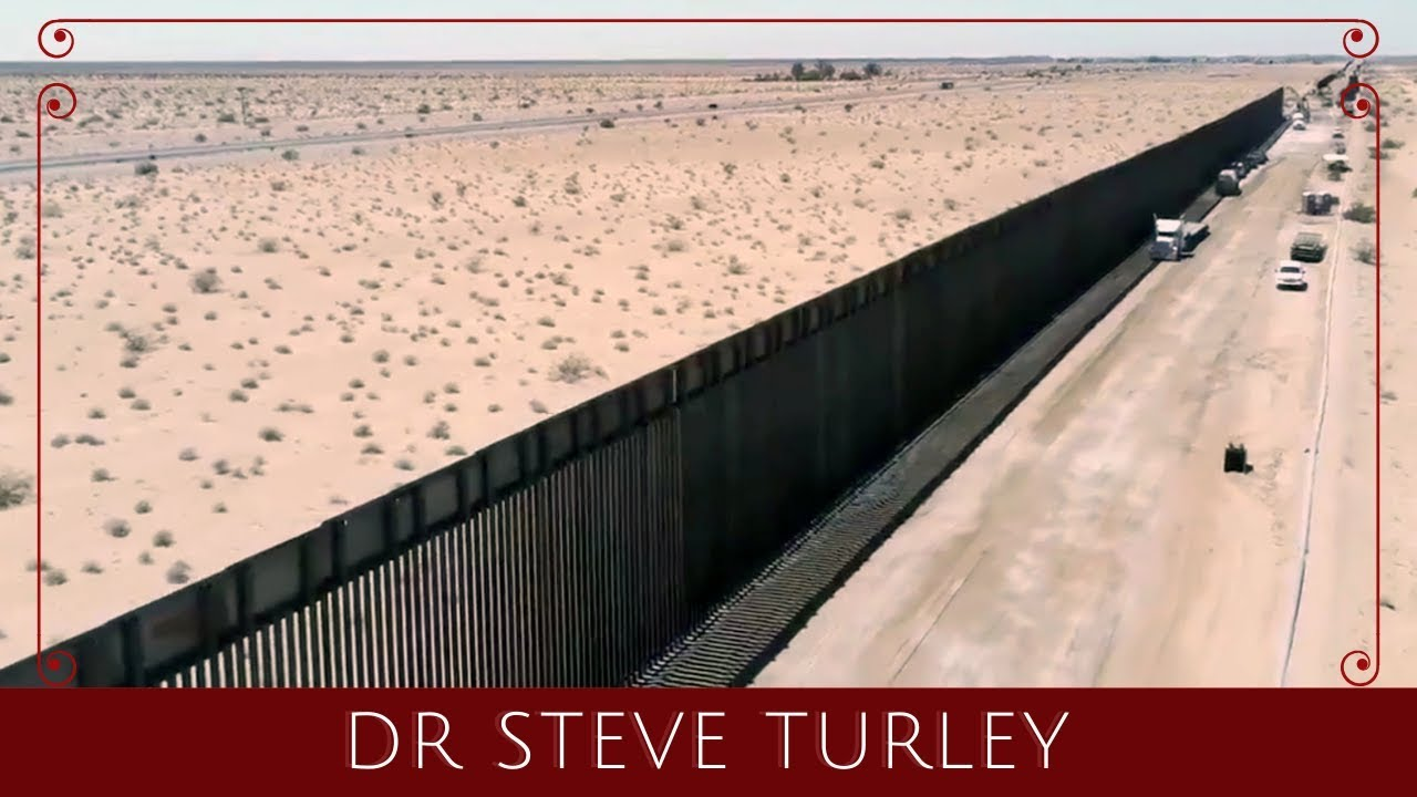 Illegal Immigration DROPS 90 PERCENT at the Arizona Border!!! - Dr. Steve Turley