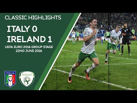CLASSIC HIGHLIGHTS | Italy 0-1 Ireland - UEFA Euro 2016 Group Stage