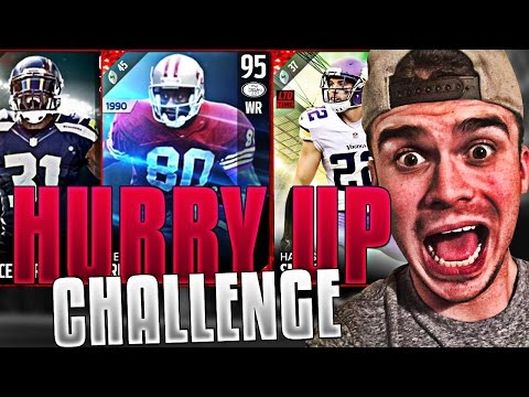 HURRY UP OFFENSE ONLY! WE SUCK AT THIS | MADDEN 17 ULTIMATE TEAM