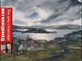 Watercolour painting tutorial landscape