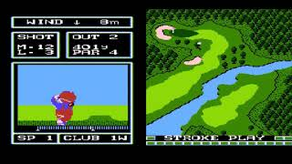Let's Play Family Computer Golf: Japan Course Part 1