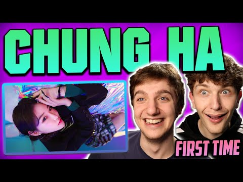 FIRST TIME HEARING CHUNG HA 청하 - Bicycle MV REACTION!