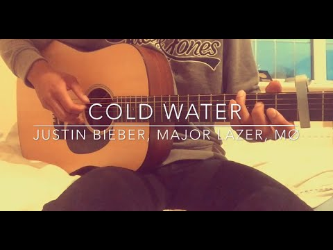 Cold Water - Justin Bieber, Major Lazer, MØ - [FREE TABS] Fingerstyle Guitar Cover