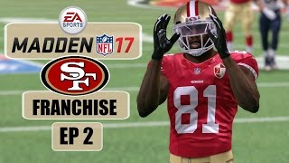 Madden NFL 17 (Xbox One) - 49ers Franchise - EP2 (Week 1 vs Rams)