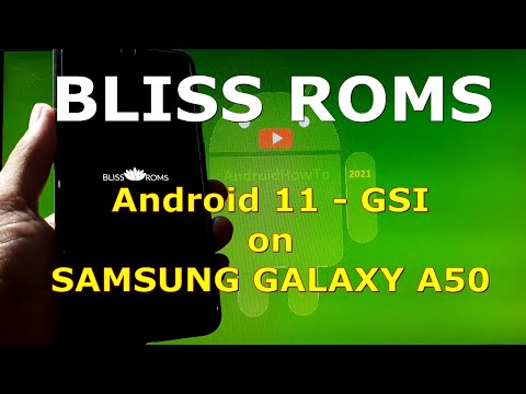 BlissRoms v14.0 Android 11 for Samsung Galaxy A50 - GSI