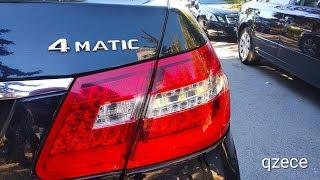 Mercedes E class 4matic | разгон 0-100 km/h | E250 cdi w212 | qzece