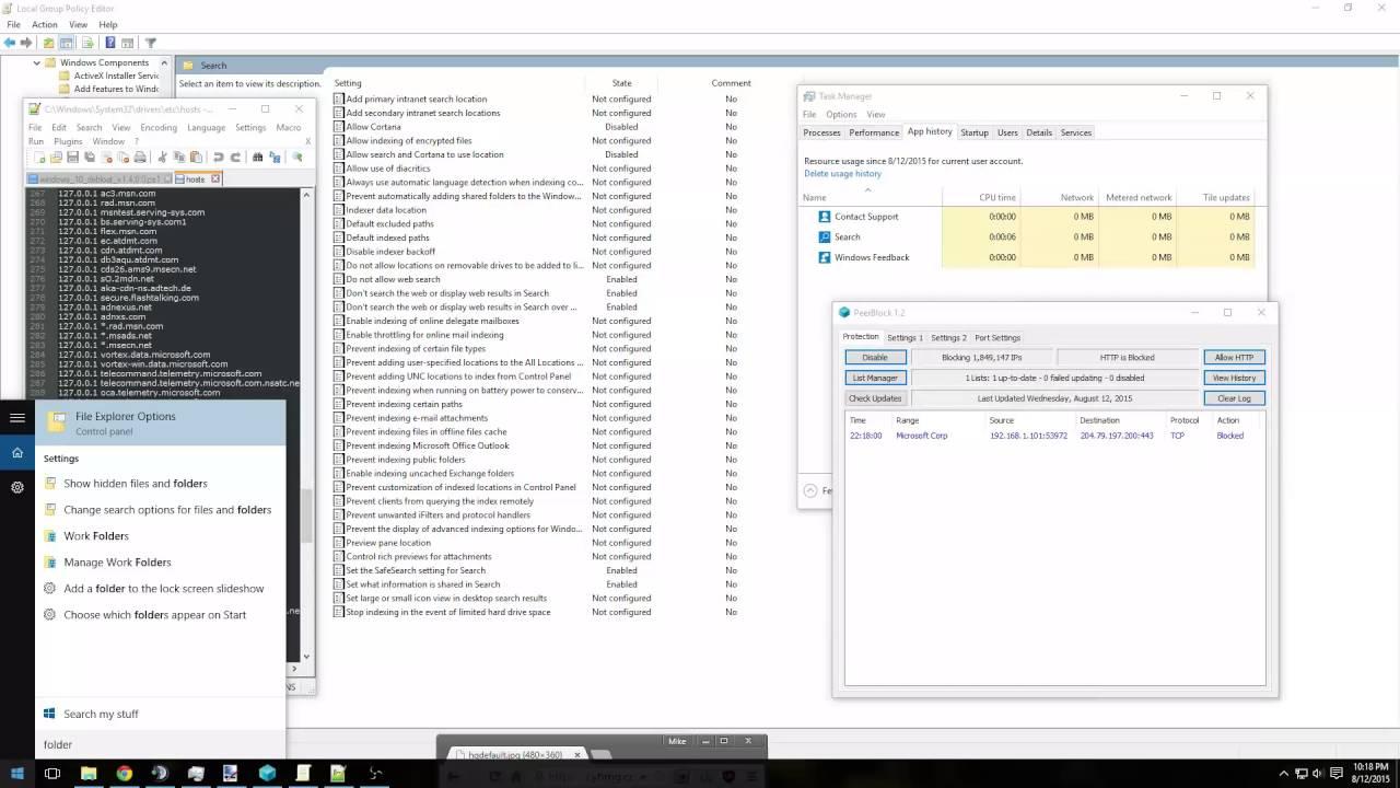ESR - Windows 10