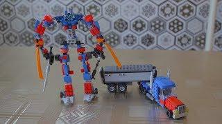 #lego #transformers Как  сделать Оптимус прайм, грузовик из Лего. Lego self made truck Optimus Prime