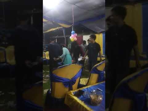 Acara Muda-mudi Muli Meranai Lampung Lempar Selendang.