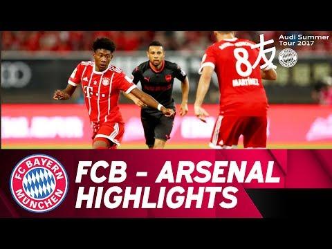 FC Bayern - Arsenal FC 3:4 on pens | Highlights | Audi Football Summit
