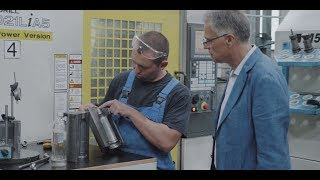 Success Story (EN) -  Improved production for INHOM-98 with FANUC CNCs and ROBODRILL