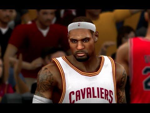 Nba 2k15 Xbox 360 Cavs Vs Bulls Gameplay Youtube