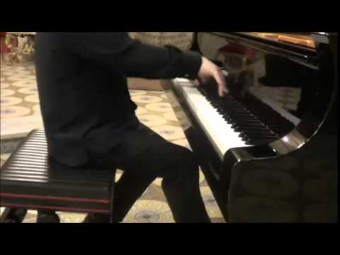 "Costantino Catena plays LISZT - Legend no. 2, ""St Francis of Paola walking on the waves"""