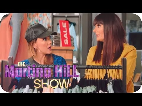 Shopping Tour mit Larissa und Rebecca! | Die Martina Hill Show | SAT.1
