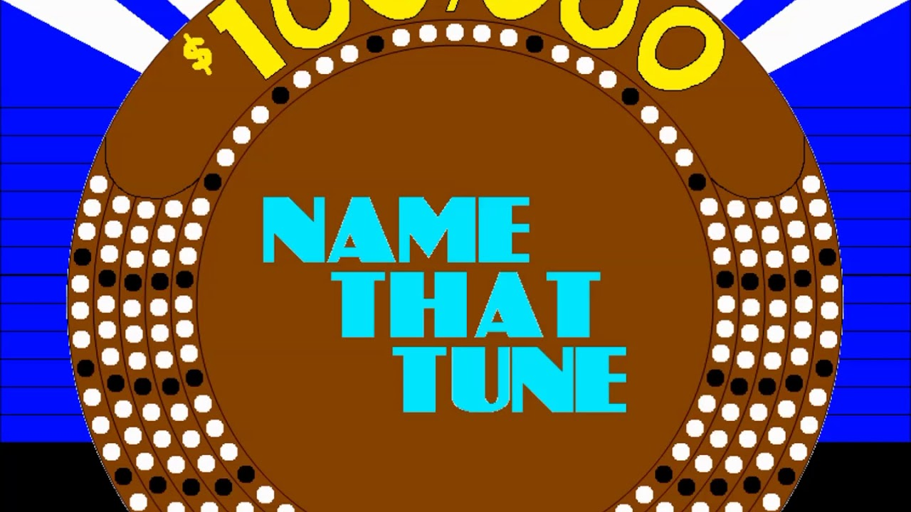 The New $100,000 Name That Tune (1984) Theme