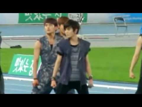 Fancam 120516 Infinite Daegu Athletics Championship - Be Min