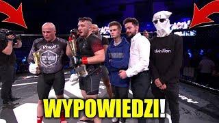 BOXDEL i GUZIK wypowiedzi po walce FAME MMA