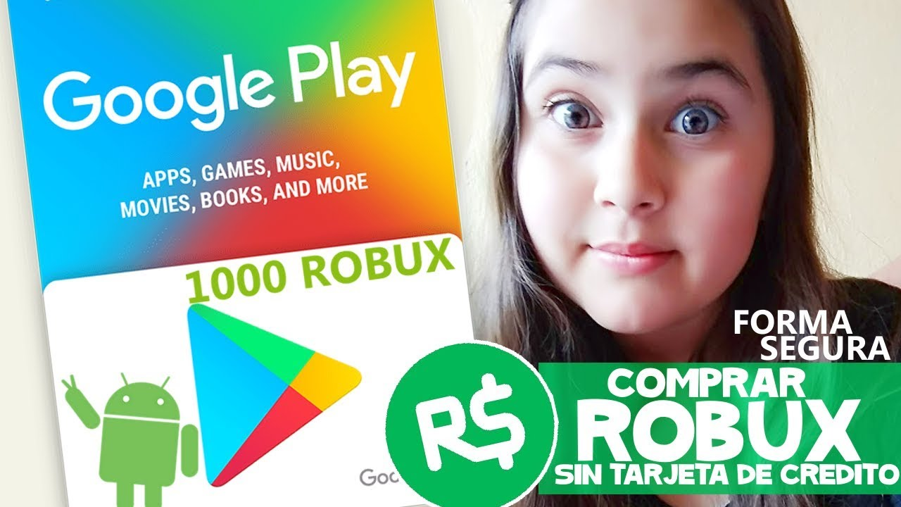 Comprar Robux Con Tarjeta Google Play Hack Roblox Knife Como Comprar Robux Con Google Play Tarjetas Tutorial Conseguir Robux Samymoro Youtube