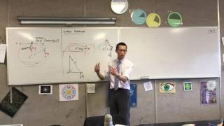 Intro to Conical Pendulum (1 of 2: Vertical & Horizontal Motion)