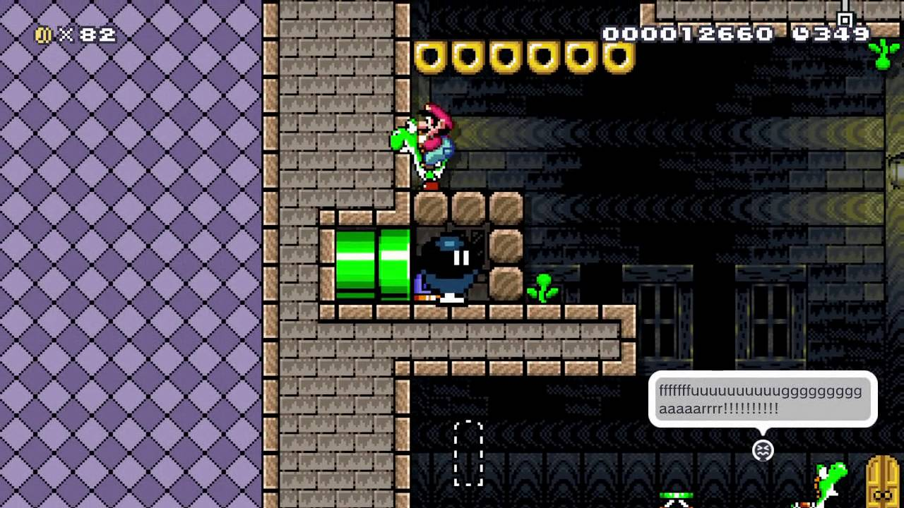 The Riddle Tower by Ceave - Course Selects: Befuddling Puzzles - SUPER  MARIO MAKER - No Commentary