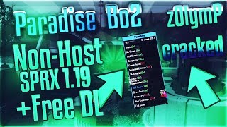 """❖[Bo2/2019] """"Paradise CRACKED Best Free Non-Host SPRX Menu"""" + Free Download 