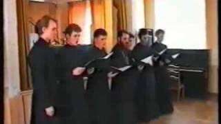 Церковный хор let my people go(Исполняется сборным составом священнослужителей. На видео присутствует в числе слушателей архиепископ..., 2009-01-28T11:45:41.000Z)