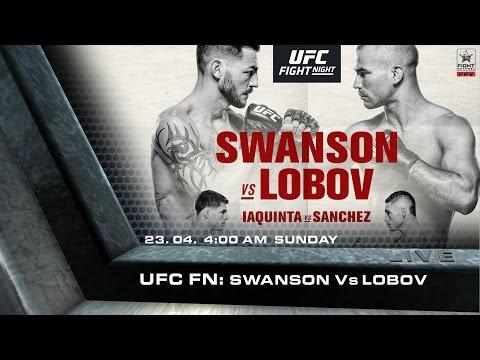 UFC FN 108: Swanson vs. Lobov