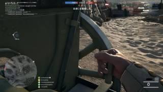 BF1 スエズの遠距離野砲で列車破壊
