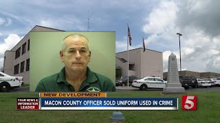 Macon County Officer Sold Official Shirt Used In Wilson County Escape Attempt