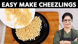 Maa, Crispy Cheeselings kaise banayu?  How to make Cheeselings at home?