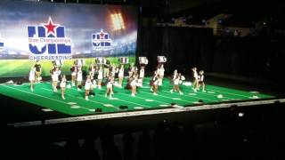 Pearland High School Cheerleaders 2017 UIL State Championships